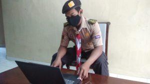 Ketua DKC Grobogan ikuti Sidparda secara daring