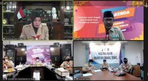 Rapat Kerja Daerah Jawa Tengah Tahun 2021
