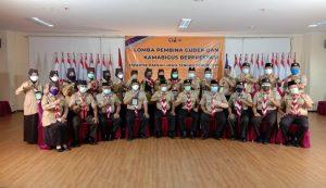 Foto bersama dengan kak Kartono Wakil Ketua Kwarda Jawa Tengah